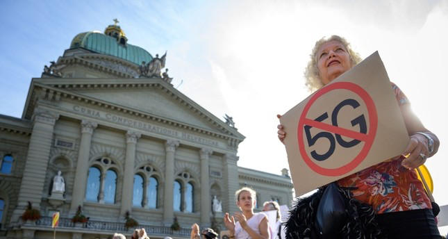 Swiss 5G         protests